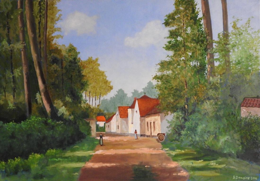 Chemin de la Marlière à Orcq